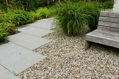 Gravel Garden, Outdoor Furniture, Outdoor Decor, Garden Inspiration, Paths, Sidewalk, Gardening, Projects, Pebble Garden