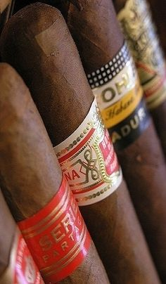 Luxury Cigars... I want to try the Cohiba Comador!!! That'll be a nice birthday gift! Hint... Hint...