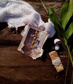 Хоббимания... с теплом... от сердца к сердцу: садовая открытка с ландышем....