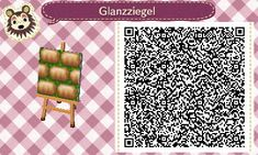 Bodendesigns - Animal Crossing New Leaf A friendly spring path laid with brown, shining stones on fresh grass. #1<---