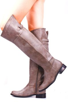 Faux Leather Boots >> Nice style, color  and price! $37 This whole website has super cheap stuff- must remember!
