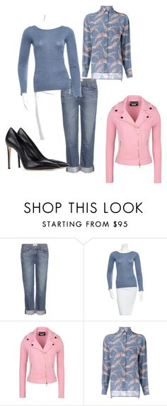 """ninth"" by rubi-mariya on Polyvore featuring мода, Paige Denim, Brunello Cucinelli, Boutique Moschino, Valentino и Casadei"