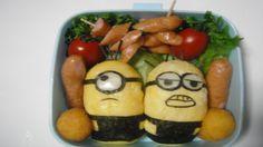 ミニオン弁当●How to Make Minions Bento