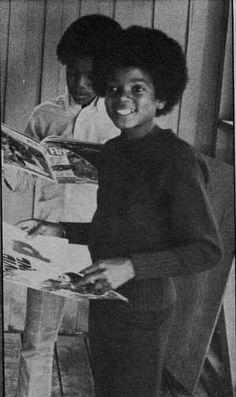 Michael Jackson and Marlon Jackson
