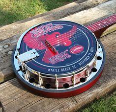 The Cheerwine Legendary Giveback III Charity Banjo is Here!