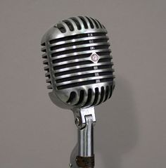 I really want an old microphone for a prop...or a reproduction.  I am not picky.