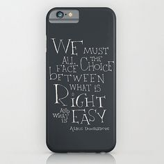 "Harry Potter ""Right and Easy"" Phone Case ($35)"