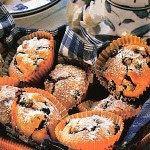 Praktická Kuchařka: Borůvkové mufinky