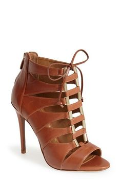 Leather Lace Up Sandal