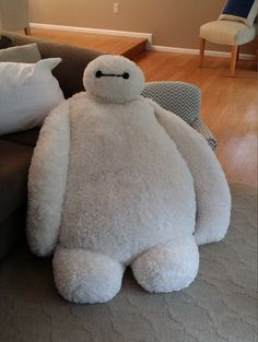 Giant Baymax Pillow Chair by EchosCraftyCreations on Etsy