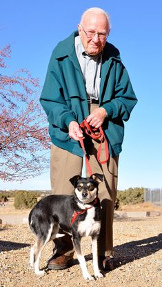 Rosie and Clyde: A Love Story of Senior Dog Adoption in Santa Fe | Dogster
