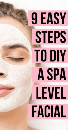 These helpful tips will amp up your skincare routine with an at home DIY facial for glowing skin! Avoid acne, develop anti-aging habits and more, with these helpful beauty tips for flawless skin. for acne Skincare Tips: How to Do a DIY At Home Facial Natural Beauty Tips, Natural Skin Care, Diy Skin Care, Skin Care Tips, Good Skin Tips, How To Do Facial, Facial Diy, Facial Scrubs, Facial Masks