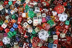 dice collection.