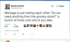 15 Tweets That Will Make Perfect Sense To Married People