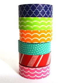 Take a look at the Ride the Waves Washi Tape Set on #zulily today!