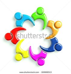 3D Glossy Illustration Business Icon Meeting 7