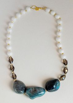 Pattern for simple bead necklace