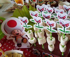 Super Mario Bros Birthday Party Ideas   Photo 1 of 26