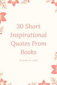 30 short inspiration