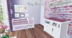 Mony Sims: Little Girl Bedroom • Sims 4 Downloads
