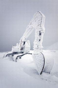 frozen. #ice #winter #nature