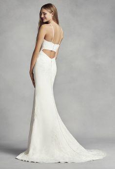 425c83977af9b White by Vera Wang for David s Bridal Wedding Dress Bra