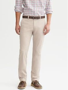 Slim-fit chino | Banana Republic ($59.50)