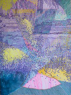 """Punkt Rocket"" by Misato Suzuki. Acrylic on canvas. #UpriseArt"