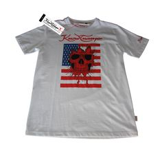 Knowtname skull USA tshirt,new collection at www.knowtname.com