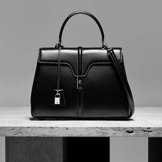 dbf94cd044 Hedi Slimane's First Celine Handbag Hints at More Parisian Chicness to Come