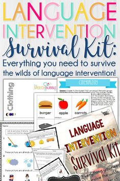 Intervention can be difficult. Knowing where to start and then where to go can be challenging and sometimes frustrating. I have taken that weight off of your shoulders with this kit so you can focus on your students and their progress! MAKE SURE YOU WATCH