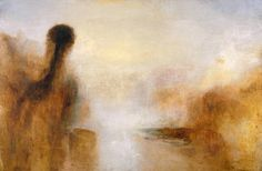 Discuss how images (can) make you 'feel' -   Landscape with Water -   Joseph Mallord William Turner  1840-5 ()