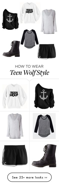 """""""Tips"""" by indiscernible on Polyvore featuring MICHAEL Michael Kors, Charlotte Russe, Wilfred and Under Armour"""