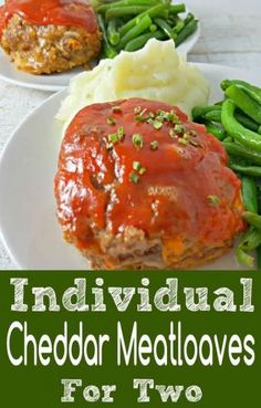54 Easy Meals For Two That Are On The Table In An Hour or Less. Try this meatloaf recipe and other delicious dinner ideas that are easy with helpful suggestions from this awesome post. Easy Meals For One, Healthy Meals For One, Healthy Recipes On A Budget, Healthy Dinner Recipes, Dinner Recipes For Two On A Budget, Easy Dinner For Two, Lunch Recipes, Dessert Recipes, Desserts