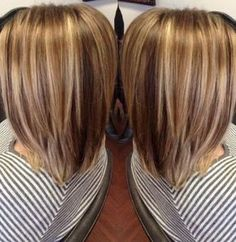 Brown with Carmel highlights