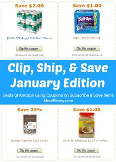 Eating healthy on a budget and saving money while saving time is possible. Stack Amazon coupons with Subscribe and Save items. Big savings!