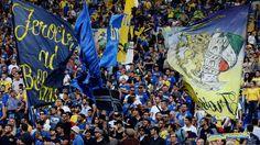 Frosinone takker 4.000 fans fra Lazio kampen!
