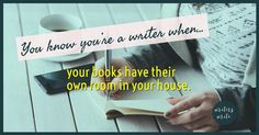 You know you're a writer when… – Writers Write Paragraph Writing, Writing A Book, Writing Prompts, Writing Ideas, Writer Humor, Writer Quotes, Quotable Quotes, Writers Notebook, Writers Write