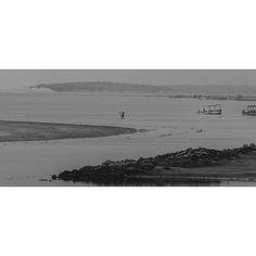 The fisherman prowls the river - 2. Follow me at @swadhinnanda on Instagram for pictures from Europe and India!  #nikon #nikonindia #landscape #odisha #konark #lotusbeachresort #travelandliving #river #sea #beach #largerthanlife #swadhinnanda #bhubaneswarbuzz