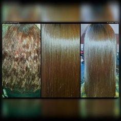 Alisado Keratina #cabellosaludable #hairinstagram #cabellohermoso #cabelloliso.