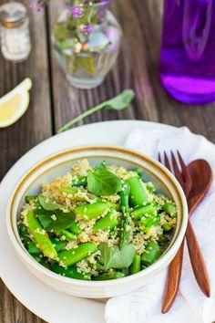 Spring Quinoa Salad - Cooking Quinoa