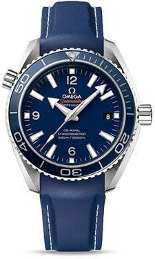 Omega Seamaster Planet Ocean 600 M Co-Axial 42 mm Titanium Rubber Strap
