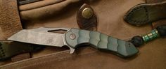 Laconico Blue Jasmine and Ferrum Forge Green Toxic Kylin #01 flippers