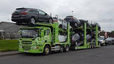 SCANIA car transporter