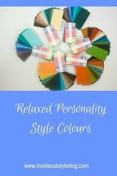 Understanding how your personality influences your colour choices - the Relaxed or Natural personality style