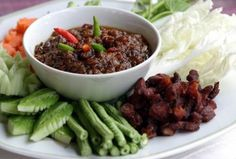 Nam Prik Som Makham (Chili Sauce with Tamarind) » Thai food Recipes