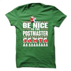 Postmaster Xmas Tee - #hipster tshirt #green sweater. I WANT THIS => https://www.sunfrog.com/No-Category/Postmaster-Xmas-Tee.html?68278