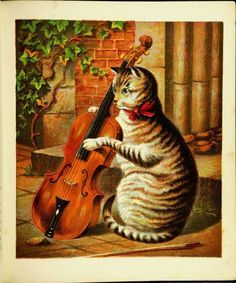 vintage cat and the fiddle - Google Search