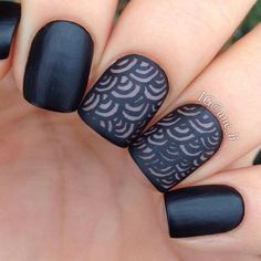 21.Black Quilted Nails We are loving these black quilted nails! If you are thinking that these somewhat look familiar, maybe you're thinking of the quilted handbags! We can see these nails are channeling the iconic Chanel quilted bag and we think it's amazing. This is quick and easy to do. Apply two coats of black …