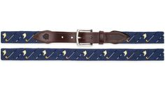 Our Golf Flags Needlepoint Belt is our most popular Sports Themed Belt. Get yours today!